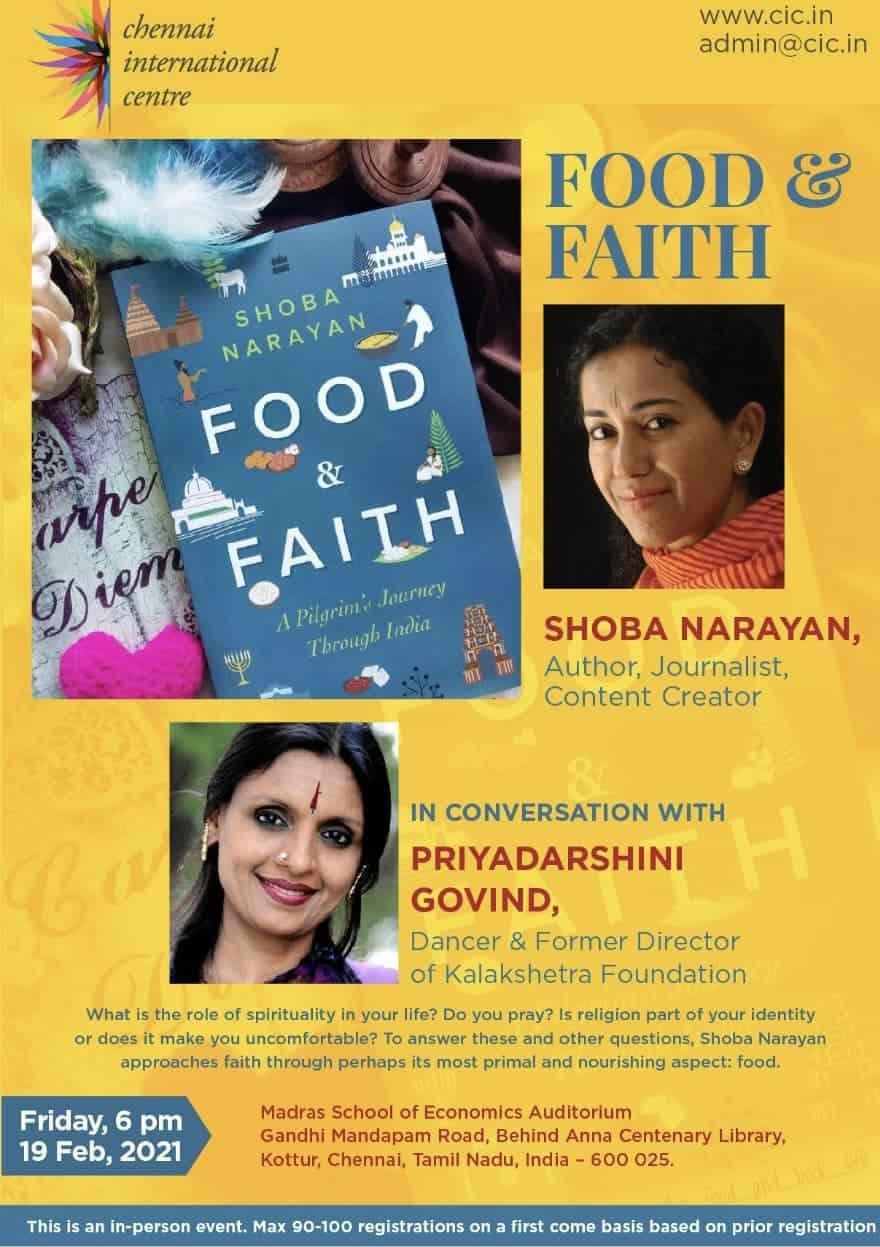 Food and Faith Chennai