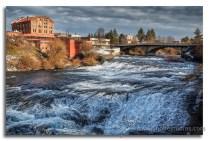 River through Spokane Falls