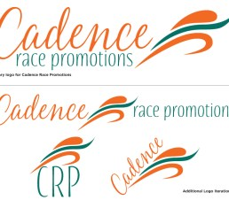 Cadence Race Promotions final logos