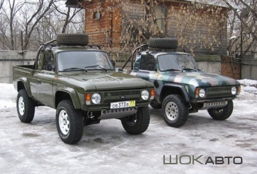 Пикап «Бизон-1» на базе ИЖ-2715 «Москвич»