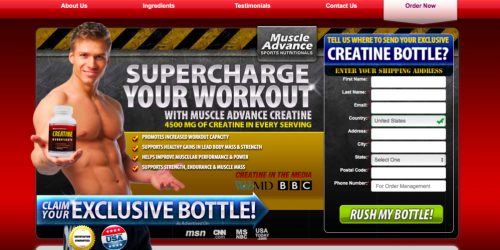 Muscle Advance Creatine Monohydrate