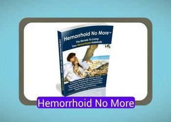 Hemorrhoid No More System Book