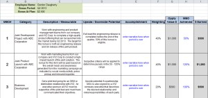 MBO plan template