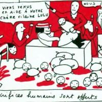 Petite culotte Yves Saint Laurent (La petite Lulu)
