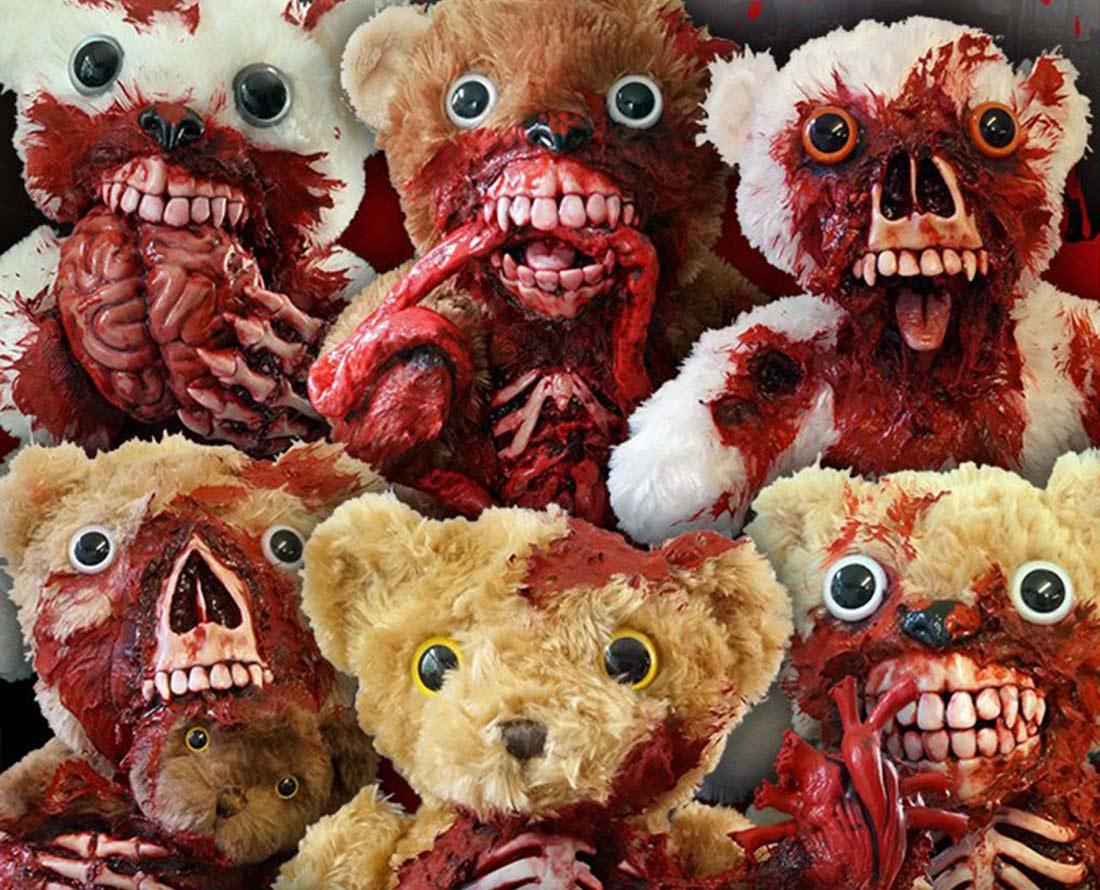 Phillip Blackman et les nounours zombie de UndeadTeds