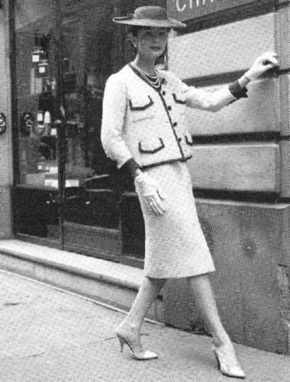 Coco Chanel's Marvelous Suit, Circa 1955