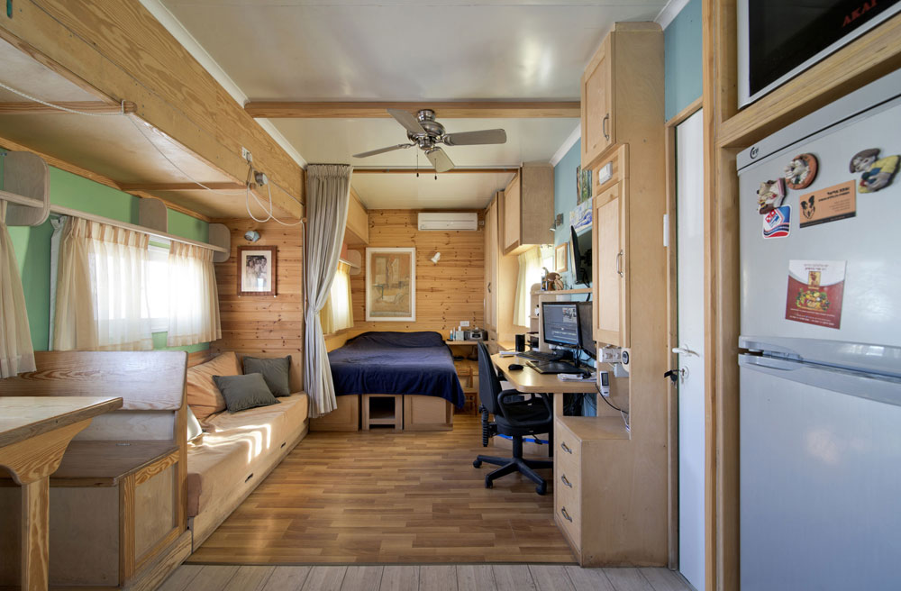 Solar Truck Home Shoebox Dwelling Finding Comfort