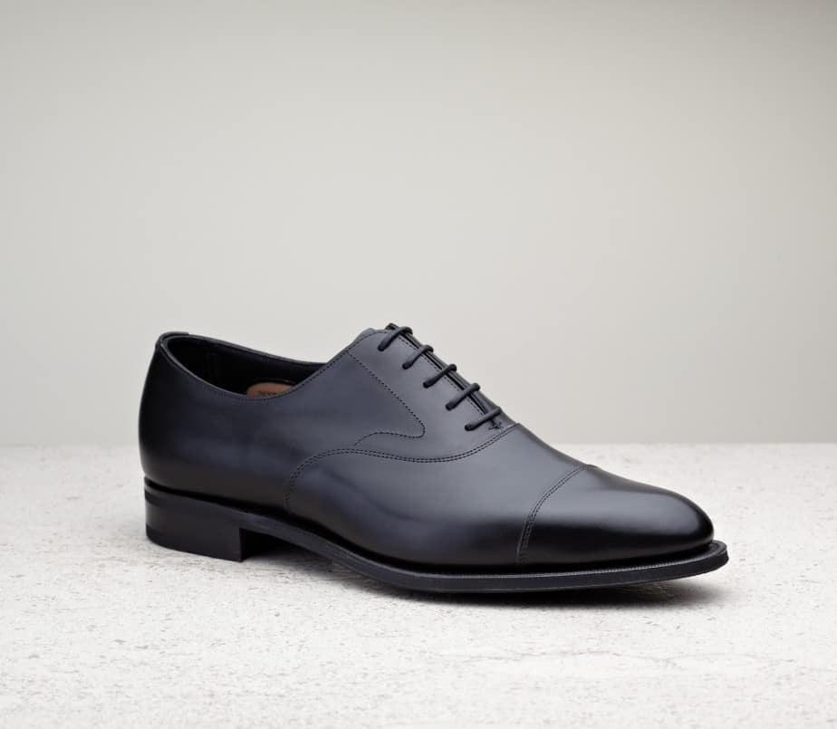 Chelsea, black calf, 82 last, R1 rubber sole.