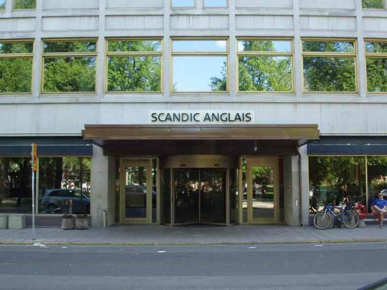 Scandic Anglais, venue for this year's event.