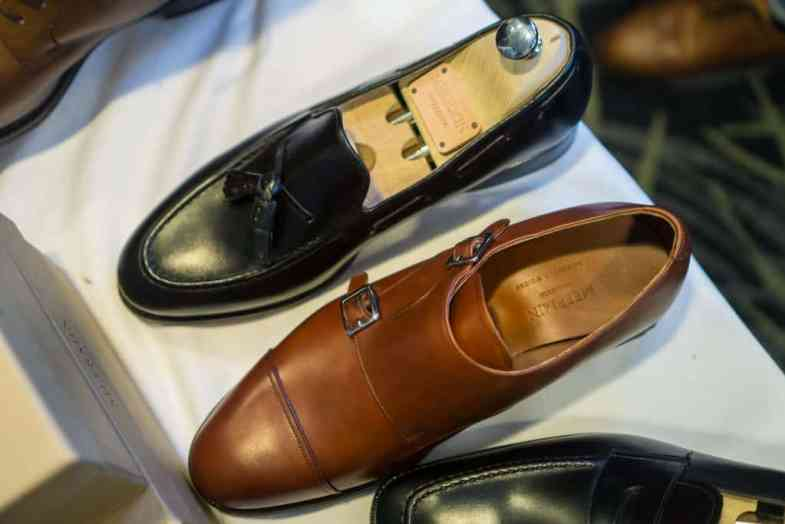 Tassel loafer and double monk from Meermin.