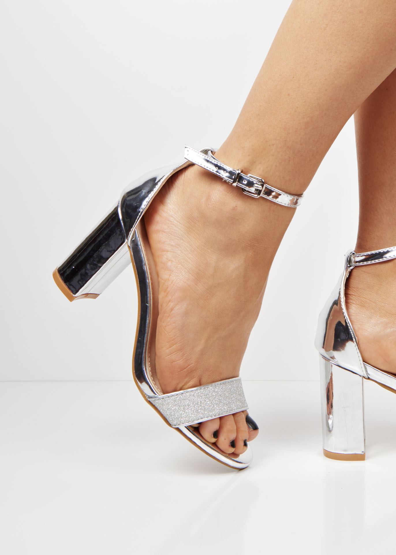 Wedge Size Clear 5 Color Heel Sandals High