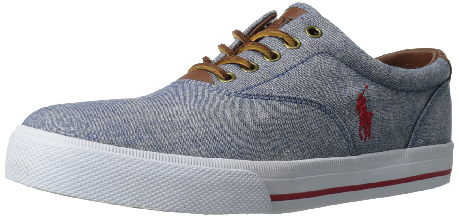 Buy Polo Ralph Lauren Men's Vaughn Fashion Sneaker: Shop top fashion brands  Fashion Sneakers at ✓ FREE DELIVERY and Returns possible on eligible  purchases.
