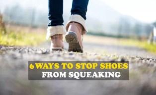 6 Ways to stop shoes from squeaking