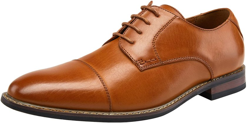 JOUSEN Men's Dress Shoes Modern Brogue Oxford Business Wingtip Shoes