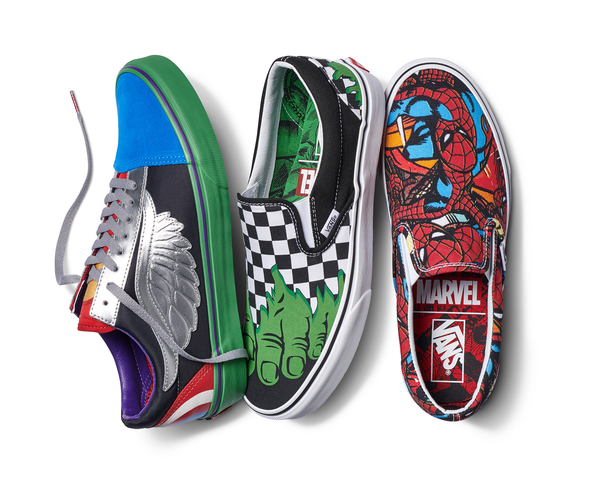 3b5a97e10ff4 Vans Joins Forces with Marvel to Assemble Epic Collaboration - Shoes    Accessories