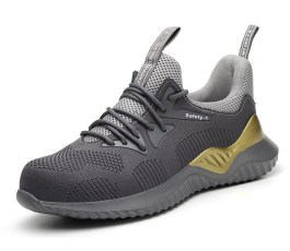 "Anti-Smashing Protective Construction Safety Work Sneakers-""SAFETY-1"""