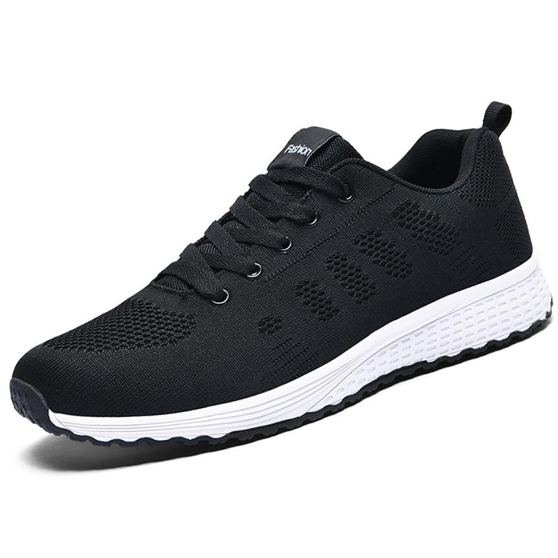 Flat Lace-Up Mesh Light Breathable Women Shoes  2
