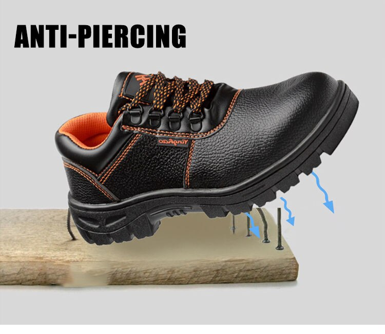 Mens Army Boot Genuine Leather Vintage Lace Up Waterproof Safety Shoes Black Desert Combat Tactical  Men Military Ankle Boots 4