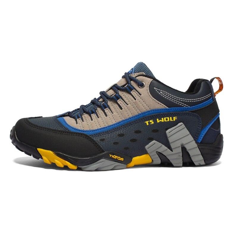 Women Genuine Leather Hiking Shoes Waterproof Non-slip Ladies Camping Travel Sport Climbing Shoes Mountain Trekking Sneakers 6