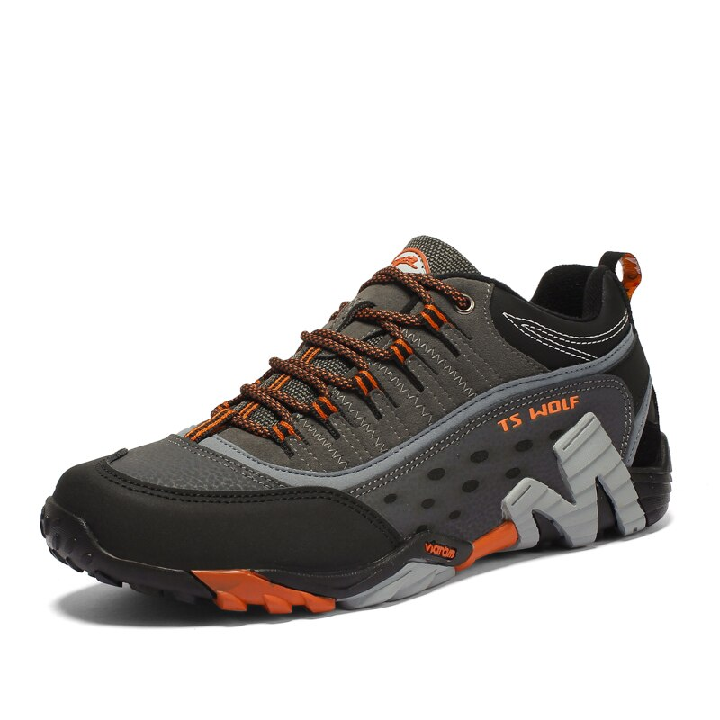 Women Genuine Leather Hiking Shoes Waterproof Non-slip Ladies Camping Travel Sport Climbing Shoes Mountain Trekking Sneakers 4
