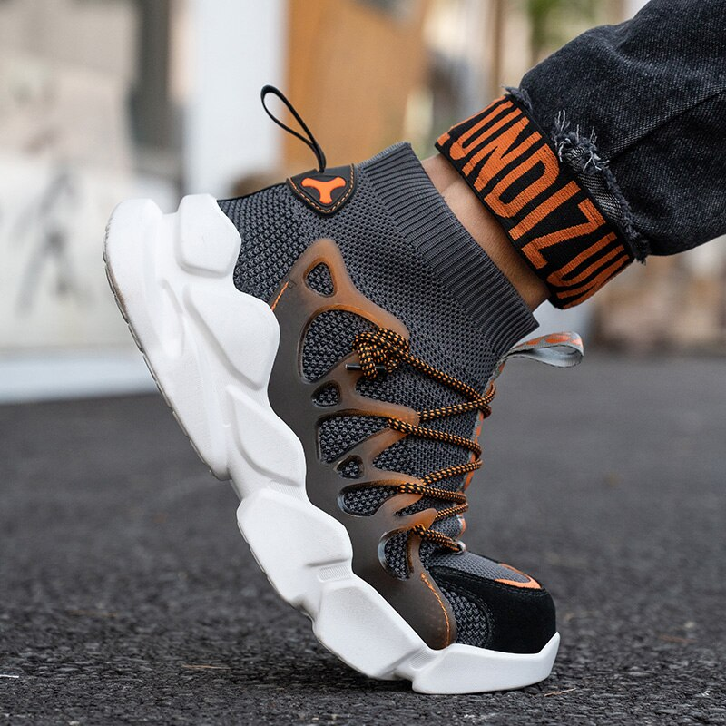 New Safety Shoes Men Indestructible Sneakers Socks Shoes Work Boots Puncture Proof Work Sneakers Safety Boots Steel Toe Shoes 6