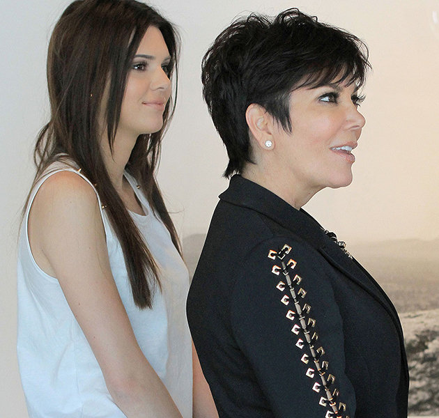 Keeping Up With Kendall Kris Jenner Dons Patent Boots And