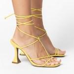 Sandália salto taça verão 2021 amarrações amarelo yellon shoes to love loja online calçados femininos tendencias (4)