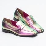 loafer sapato mule verão 2021 metalizado pink furta-cor shoes to love loja online calçados femininos tendencias (16)