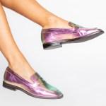 loafer sapato mule verão 2021 metalizado pink furta-cor shoes to love loja online calçados femininos tendencias (7)
