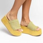 sandalia feminina anabela plataforma flatform verão 2021 amarela cabedal em tela amarelo shoes to love loja online calçados femininos tendencias (58)