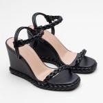 sandalia feminina anabela plataforma flatform verão 2021 preta black detalhes em trança shoes to love loja online calçados femininos tendencias (35)