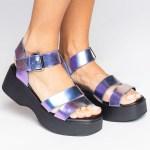 sandalia verão 2021 flatform metalizada futa-cor roxa azul shoes to love loja online calçados femininos tendencias (4)
