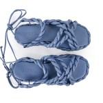 Rasteira Feminina Valen Safira verao 21 sandalias