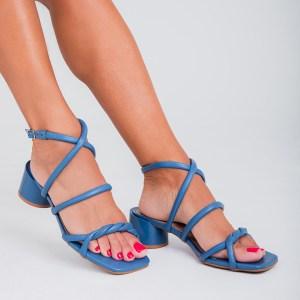 sandalia-feminina-salto-bloco-azul-loja-on-line-tiras-acolchoadas