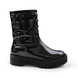 bota-estilo-galocha-preta-com-tachas-preta-loja-on-line-de-calcados-feminino