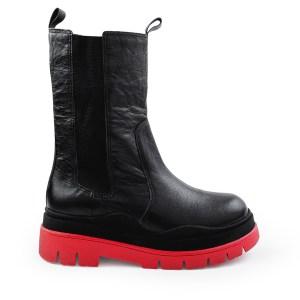 bota-feminina-de-couro-preta-com-solado-vermelho-loja-on-line-de-calcados-feminino-