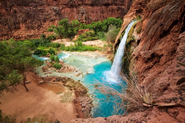 Havasuipai Falls by Josh McNair of www.CaliforniaThroughMyLens.com