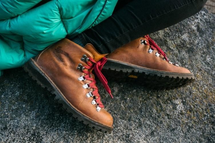 Alyx's Danner Boots & Rumpl by Cameron Garnder
