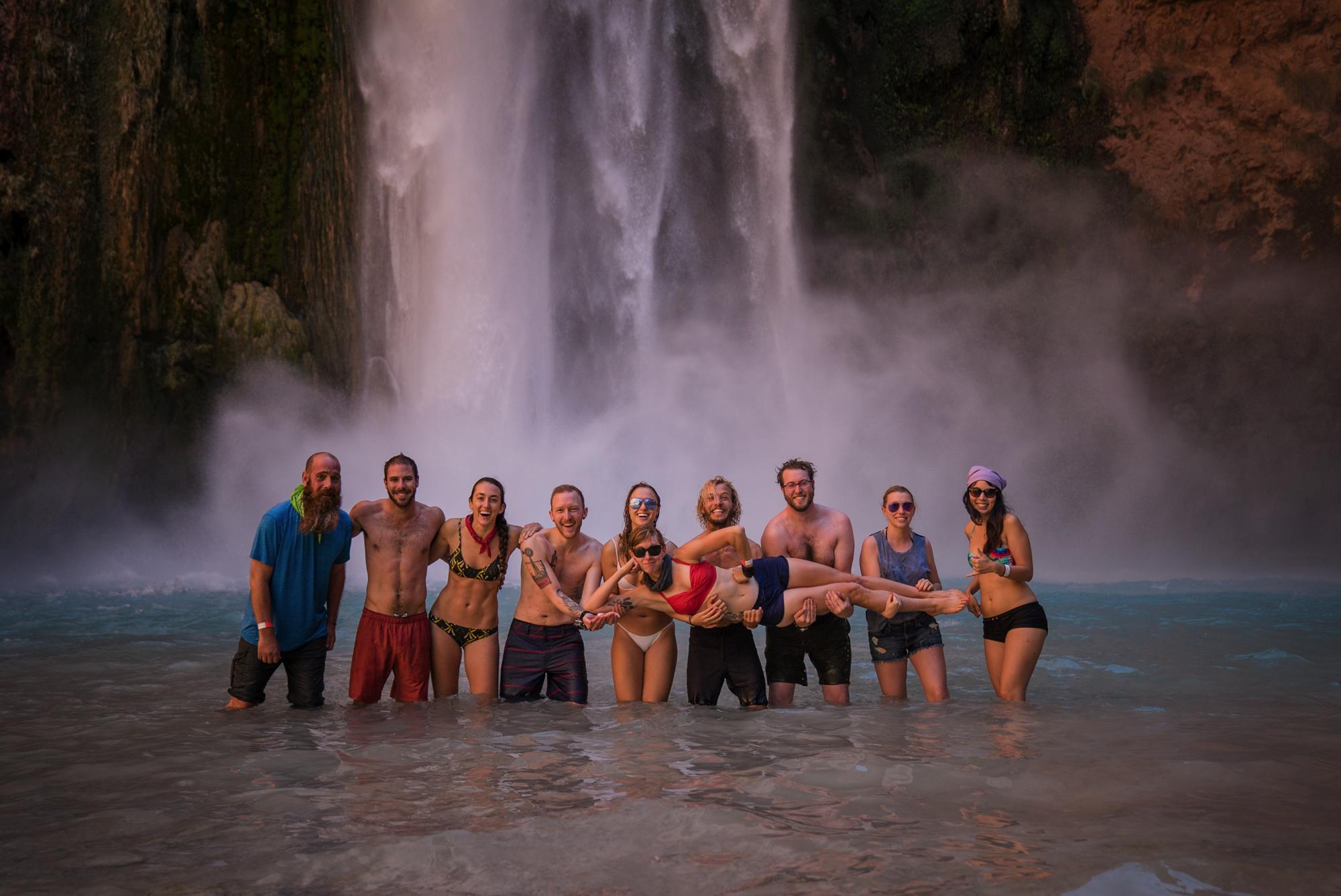 Shoestring Adventures Backpacking To Havasu Falls