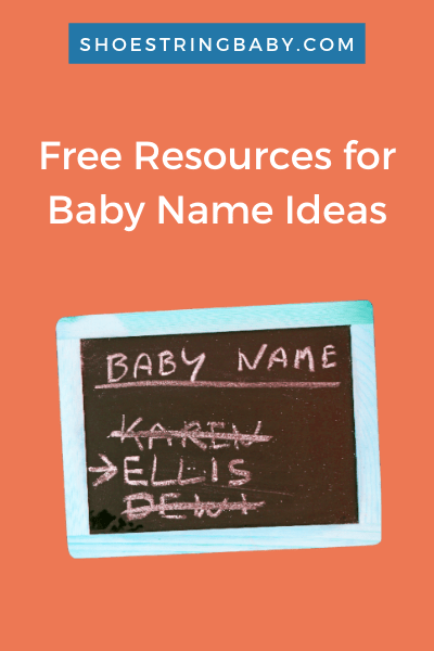 free resources for cute and unique baby names