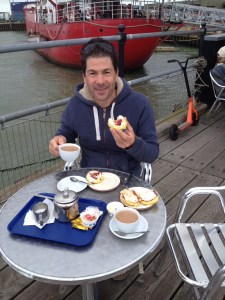 Cream tea for Mr S