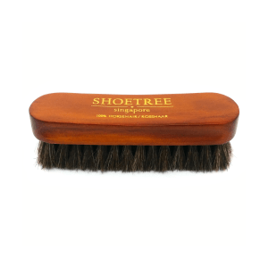 horse hair shoe brush top