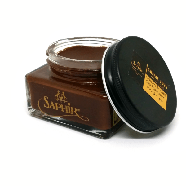 saphir pommadier cream shoe polish brown