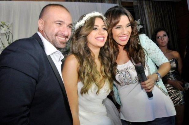 صور من زفاف الفنانة هبة أبو سريع