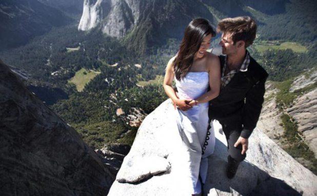 70501 صور حب رومانسية  , صور حفل زفاف في مرتفعات الموت