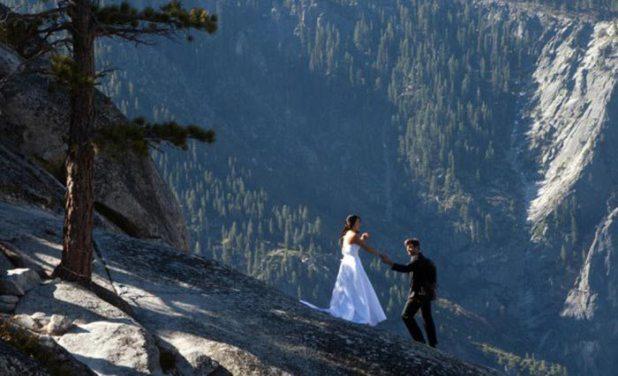 70504 صور حب رومانسية  , صور حفل زفاف في مرتفعات الموت
