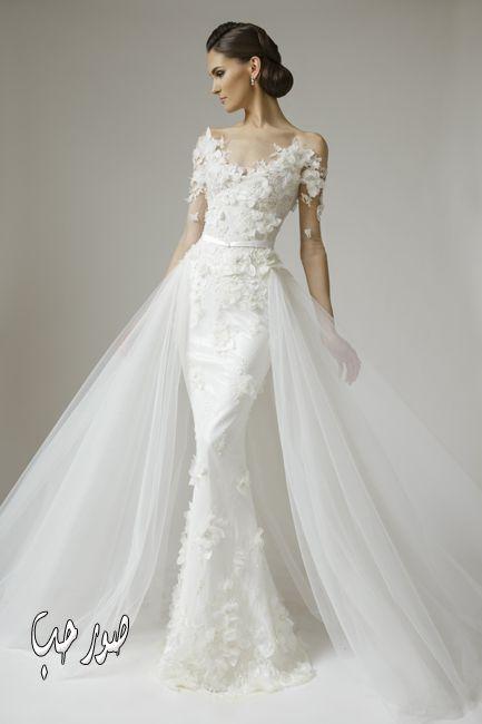 فساتين زفاف من الساتان فساتين ساتان ناعمة كيوت للزفاف 2016