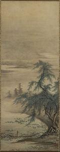 Appreciating Lotuses by Kanō Masanobu