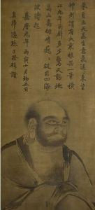 Painting of Bodhidharma