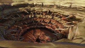 Sarlacc Pitt stand in for Vagina Dentata